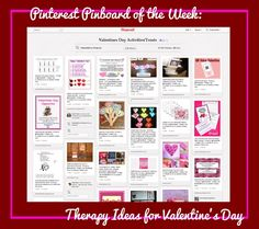 Pinterest Pinboard of the Week: Valentine's Day Therapy Ideas and Treats - Pinned by @PediaStaff – Please Visit  ht.ly/63sNt for all our pediatric therapy pins