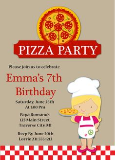 178 Best Kids Birthday Party Invitations Images On Pinterest In 2019