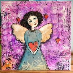 Angel-canvas by jenni.hamilton, via Flickr