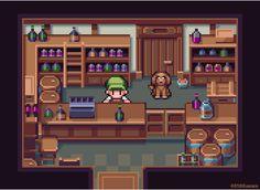16-bit era RPG like liquor store! @Pixel_Dailies #pixel_dailies #liquor #liquorstore #pixelart #rpg #JRPGJuly #retro https://t.co/O8vNoACDM2