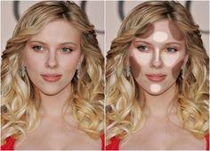 7 formatos de rosto, como contornar e iluminar cada um deles! Rosto Mais  FinoRosto TriangularFormato De RostoTipos ... ac11515c83