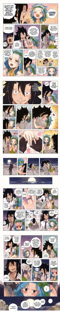 Aww this is adorable, I love Gajeel x Levy - Edina Mckuirkes Gale Fairy Tail, Fairy Tail Natsu And Lucy, Fairy Tail Art, Fairy Tail Guild, Fairy Tail Ships, Fairy Tail Anime, Fairy Tales, Got Anime, Anime Love