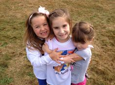 Hugging it out at the Southeastern Connecticut Walk Now for Autism Speaks