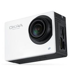 OKAA V2 WiFi Action Camera 4K Video Recording Ultra HD 2 inch Touch Screen 170…