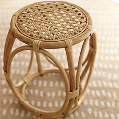For the vacation home. Natural Elsa from Serena & Lily Ratan Furniture, Cane Furniture, Bamboo Furniture, Simple Furniture, Furniture Design, Rattan Stool, Rattan Coffee Table, Wicker Table, Study Room Decor