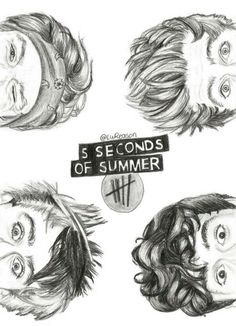 5 seconds of summer #drawing #art #5sos