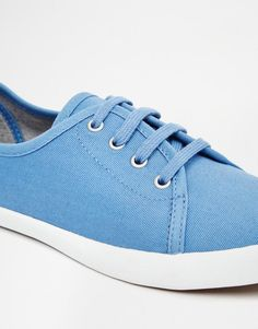 Fred Perry | Fred Perry Bell Riviera Blue Trainers at ASOS