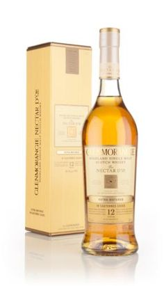 Nectar D'Or is probably a reference to the golden nectar that was previously held in the casks used to finish the whisky. This is a sauternes finished single malt from the Glenmorangie distillery, a fruity, vinous release from the Highland distillery.