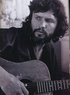 Kris Kristofferson, perfect beard in 1972