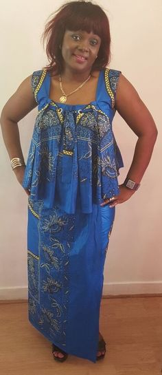 FROM DRC Latest African Fashion Dresses, African Print Dresses, African Dresses For Women, African Print Fashion, African Attire, African Wear, Ankara Gown Styles, Kente Styles, African Traditional Dresses