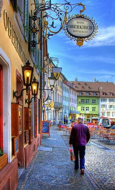 Freiburg, Germany,  we stayed here, beautiful old hotel across from the cathedral,  bells