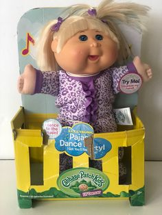 New cabbage patch doll Slight damage to front of box Works Dances and sings Rare Dance Party Kids, Cabbage Patch Kids Dolls, Electronic Music, Christmas Stuff, Singing, Patches, Box, Christmas Things, Snare Drum