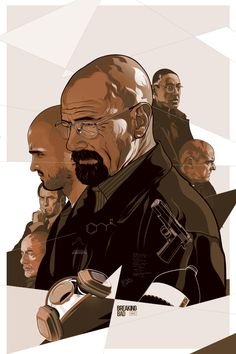 Alternative movie poster for Breaking Bad by Vincent Rhafael Aseo. #poster #movie