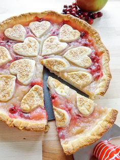 Apple and Cranberry Pie