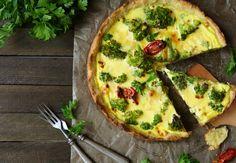 Brokolicový quiche