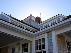Intersecting roof of Nantucket cottage via Flickr