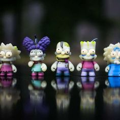 The Kidrobot x The Simpsons Zombie Toys Transform the Beloved Family trendhunter.com