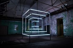 Cube Sculpture Lights Up To The Beat Of Music In Dazzling Display