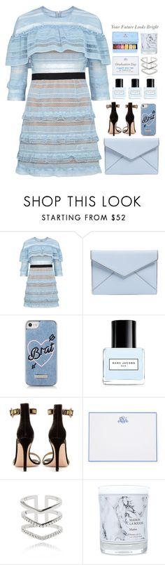 """*1743"" by cutekawaiiandgoodlooking ❤ liked on Polyvore featuring self-portrait, Rebecca Minkoff, Skinnydip, Marc Jacobs, Gianvito Rossi, Boatman Geller, Astrid & Miyu, Marie Hélène de Taillac, Maison La Bougie and Roberto Coin"