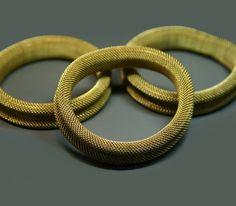 Image of Vintage Brass Mesh Bracelet