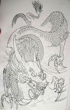 Dragon 6 from my book... Más
