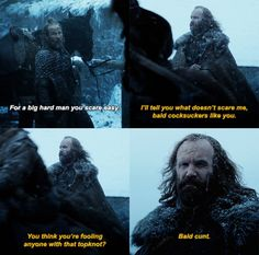 I said it before and I'll say it again, I fucking love the Hound.