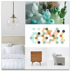 Apertures No. 2 - West Elm Inspiration Board, curated by Genna Cowsert at Minted