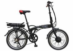 Viking Vision Wheel Folding E-Bike 36 Volt Electric Bike - UKsportsOutdoors Folding Electric Bike, Electric Bicycle, Bmx Bikes, Road Bikes, 20 Wheels, Bike Reviews, Bike Frame, Cycling Gear, Vikings