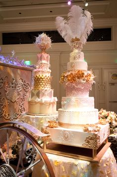 Beautiful display cakes