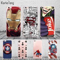Cool Marvel Transparent TPU Case Cover For iPhone 6 6s 5 5s se 7 7Plus Batman Joker Superman Comics Pattern Coque #clothing,#shoes,#jewelry,#women,#men,#hats,#watches,#belts,#fashion,#style