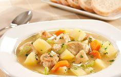 Sopa de Legumes com Frango | Italiana | Receitas Gshow
