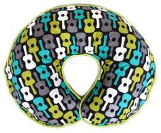 Groovy Guitars Nursing Pillow Cover - fits Boppy pillow on Etsy, $27.00