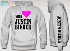 MRS Justin Bieber Hoodie