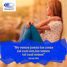 Los ojos, además, son el reflejo de tu alma #FraseDelDiaClínicaCeo www.ceomedellin.com