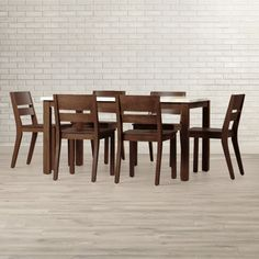 Found it at Wayfair - Losey 7 Piece Dining Set