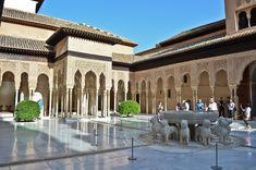 La Alhambra y el Generalife en Granada, Andalucía