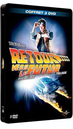 Retour vers le futur - L'Intégrale - Coffret Boîtier Métal - Robert Zemeckis - Michael J. Fox - Christopher Lloyd : tous les DVD à la Fnac