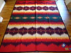 NEW WITH TAGS PENDLETON MADE IN USA RETIRED GERONIMO BLANKET