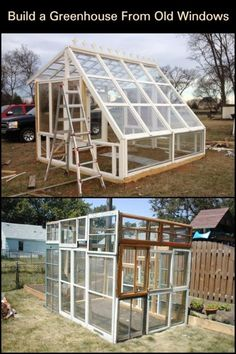 This greenhouse project is one of the most inexpensive builds we've come across!