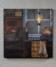 Another great find on #zulily! Illuminated 'Home Sweet Home' Wrapped Canvas #zulilyfinds