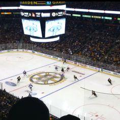 Boston Garden home of the Bruins&&Celtics