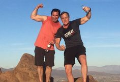 Check out Dr. Dubrow from Botched wearing an #OTbeat shirt on the top of Camelback Mountain in Phoenix, Arizona! Thanks for the support, Dr. Dubrow!