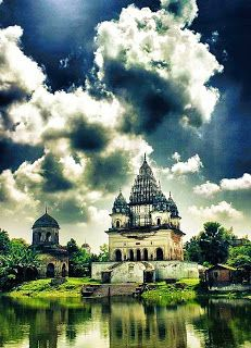 """Puthia, """"temple city"""", is a small village 23 km from Rajashai and contains the most important Hindu structures present in Bangladesh. Awesome place ..........."""