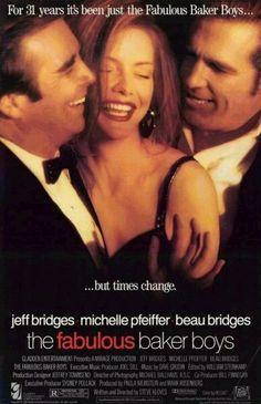 The Fabulous Baker Boys film, fabul baker, jeff bridges, michelle pfeiffer, baker boy, 1989, favorit movi, bakers, michell pfeiffer
