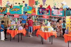 With the look and feel of a bustling bookstore, Scholastic Book Fairs are typically weeklong events that feature affordable books based on characters and subjects kids love and want to read about.