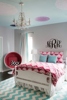 Crazy Cool Girls Room in Highland Park / Dallas, TXJanFeb Issue Girls Rooms