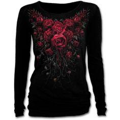Camiseta Blood Rose Spiral / XT3394