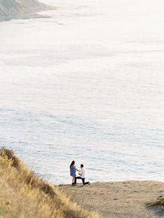 "Say ""I do"" seaside! #engagement #howheasked #love"