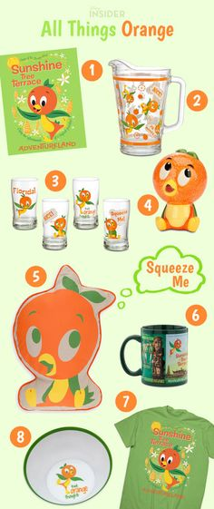 Give it a Squeeze! For Orange Bird Fans Only | Disney Insider