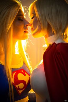 Supergirl and Powergirl by RinaG